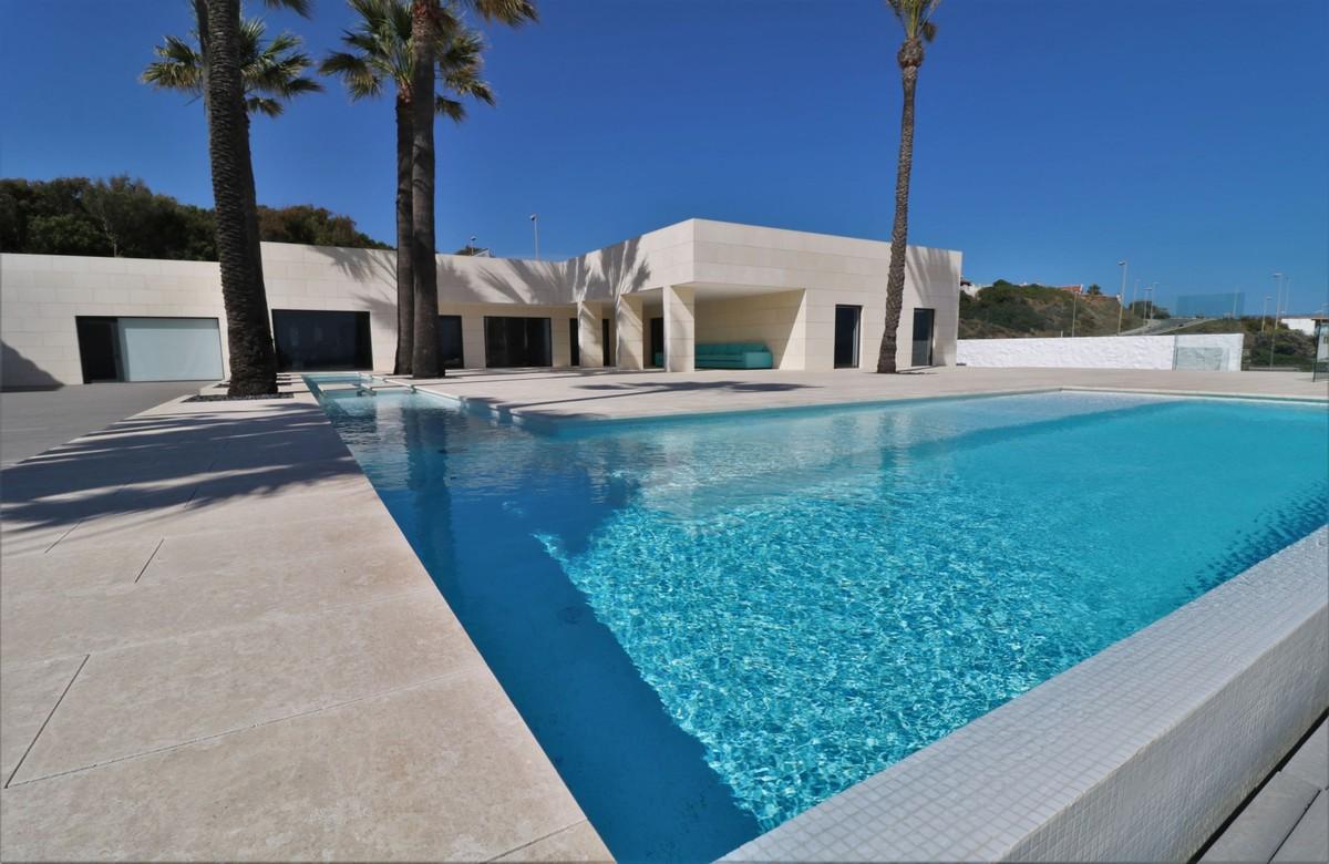 Beachfront Contemporary Villa in Mijas Costa