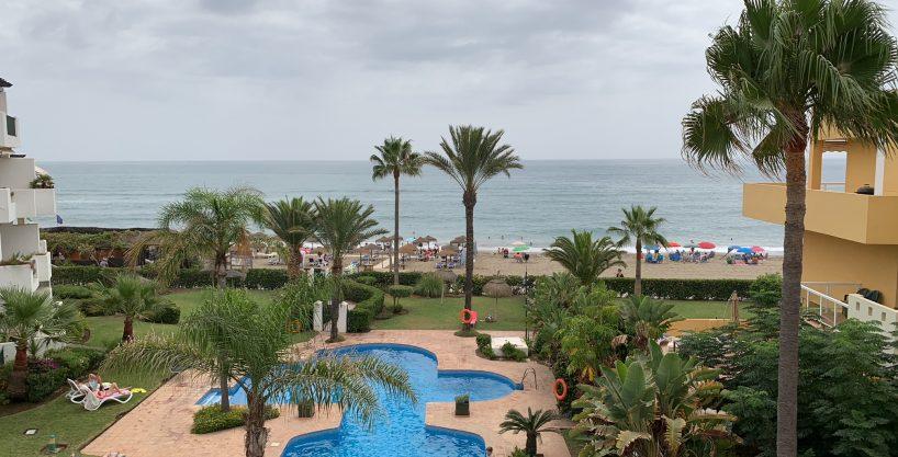 beachfront apartment in La Cala de Mijas